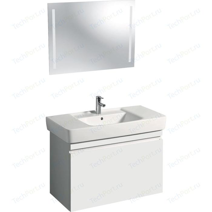 Мебель для ванной Geberit Renova Plan 100 белый глянец