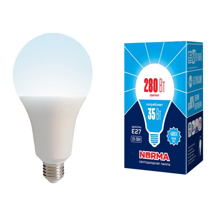 Светодиодная лампа Volpe LED-A95-35W/4000K/E27/FR/NR