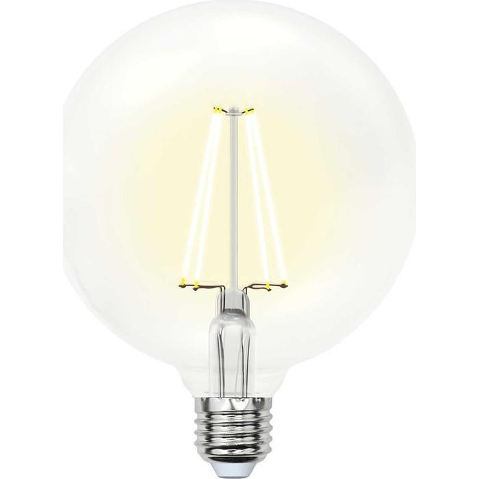 Филаментная светодиодная лампа Uniel LED-G125-15W/4000K/E27/CL PLS02WH