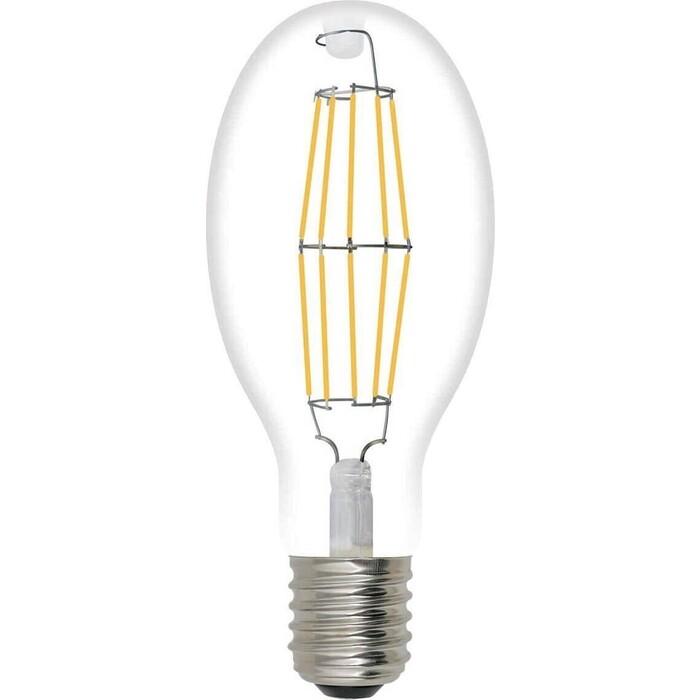 Филаментная светодиодная лампа Uniel LED-ED90-40W/NW/E40/CL GLP05TR