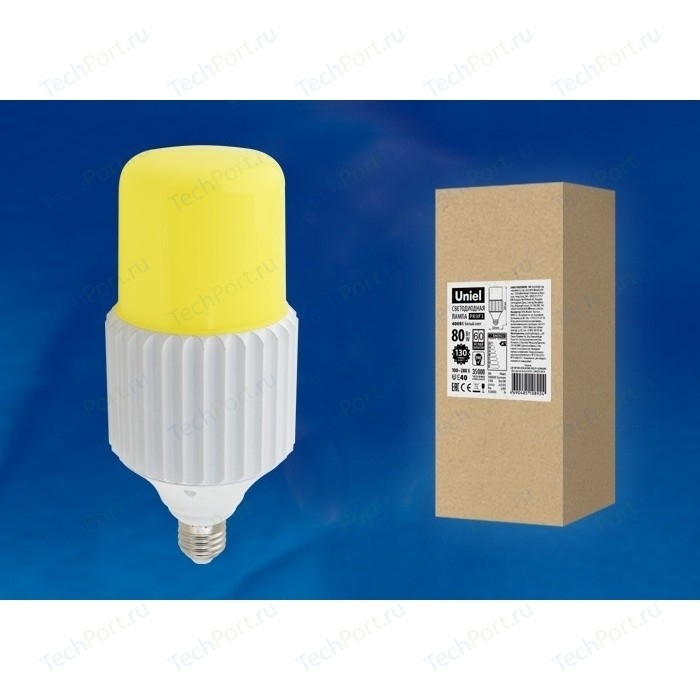 Светодиодная лампа удаленный люминофор Uniel LED-MP200-80W/6000K/E40/PH ALP06WH