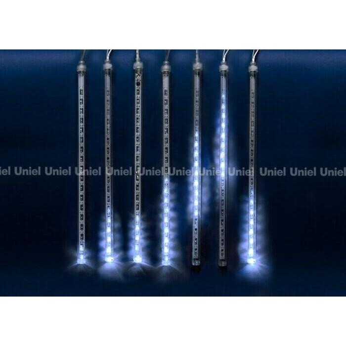Светодиодный занавес фигурный Uniel ULD-E2403-144/DTK BLUE IP44 METEOR