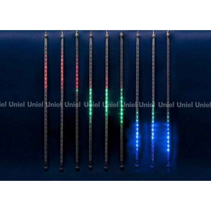 Светодиодный занавес фигурный Uniel ULD-E2405-240/DTK MULTI IP44 METEOR