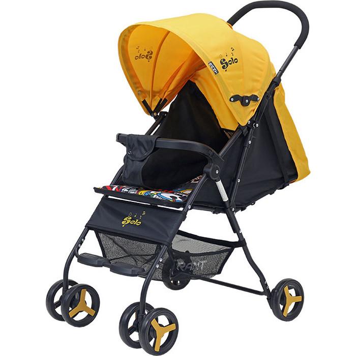 Коляска прогулочная Rant SOLO RA154 yellow