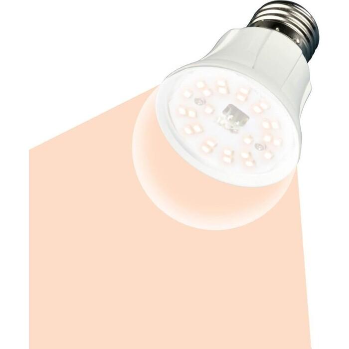 Светодиодная лампа для растений Uniel LED-A60-10W/SPFR/E27/CL PLP01WH