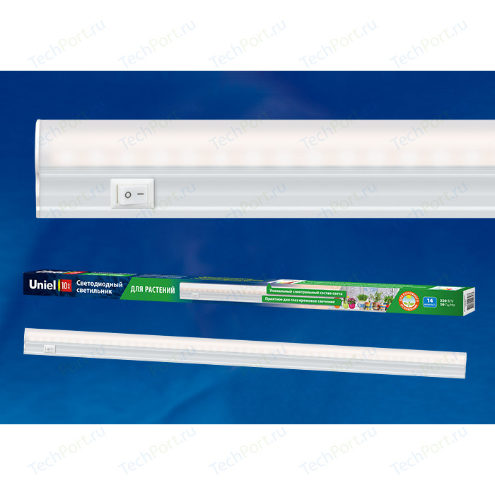Фото - Подсветка для растений для фотосинтеза Uniel ULI-P10-10W/SPFR IP40 WHITE uniel светильник uli p20 uli p20 10w spsb ip40 white white