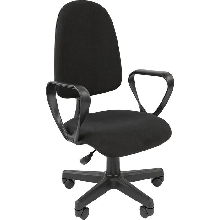Офисноекресло Chairman Стандарт Престиж ткань С-3 черный