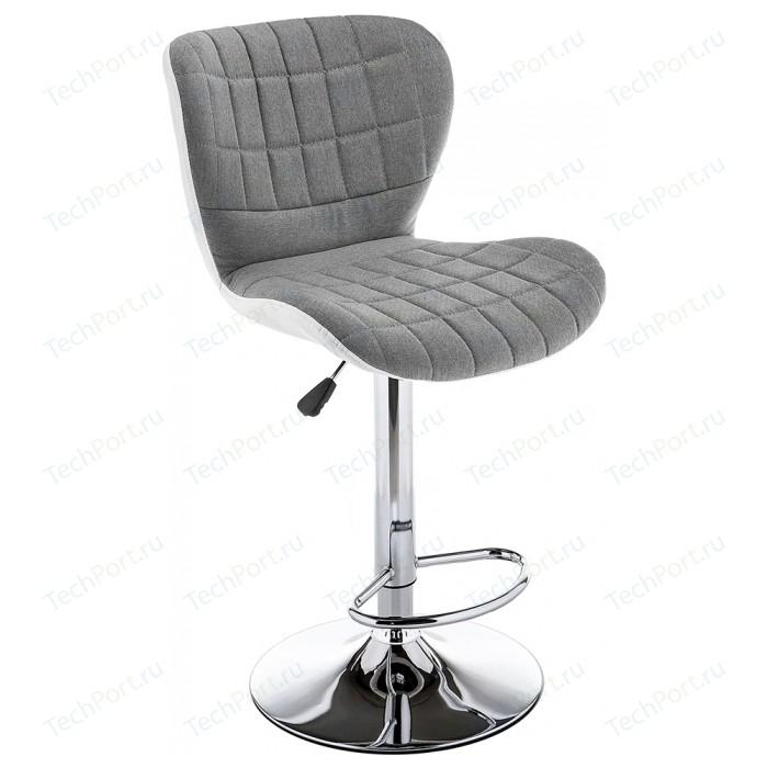 Барный стул Woodville Brend серый/белый барный стул woodville totem светло серый