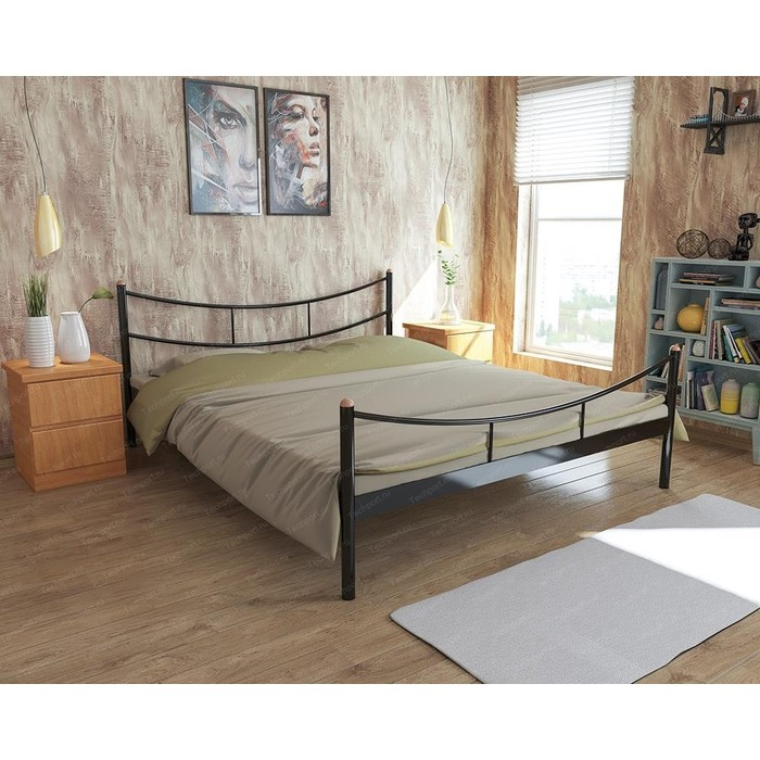 Кровать Стиллмет Брио коричневый 8019 140x200