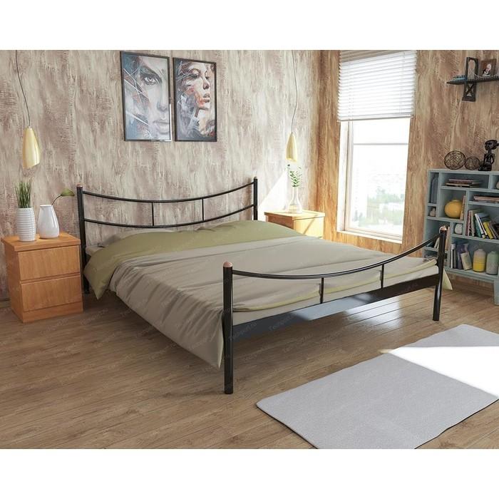 Кровать Стиллмет Брио коричневый 8017 160x200 кровать стиллмет экспо коричневый 8017 160x200