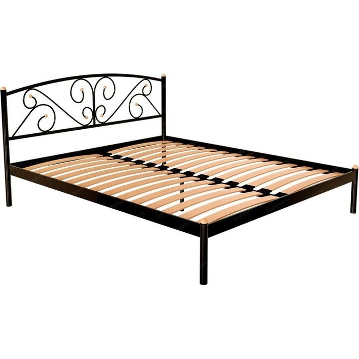 Кровать Стиллмет Эвелин коричневый 8017 160x200 кровать стиллмет эвелин желтый 160x200