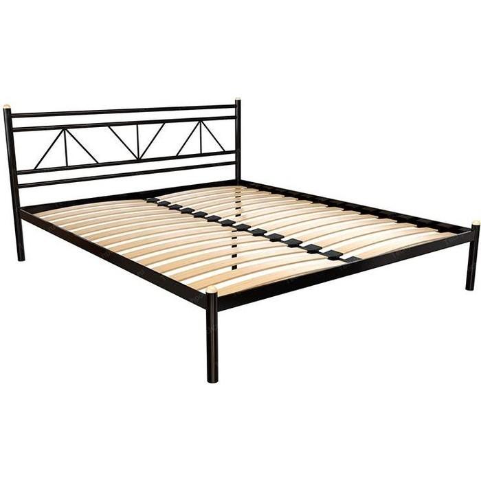 Кровать Стиллмет Ларус черный 140x200