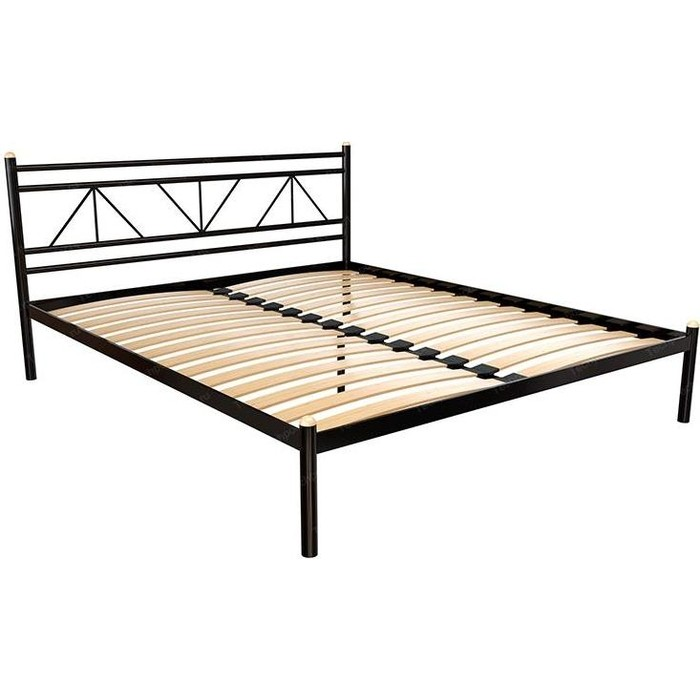 Кровать Стиллмет Ларус коричневый 8017 160x200 кровать стиллмет экспо коричневый 8017 160x200