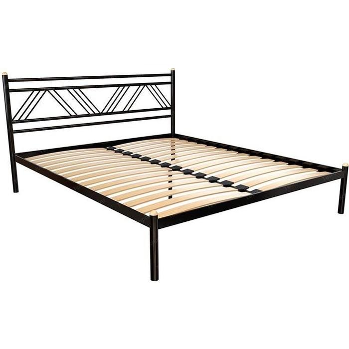 Кровать Стиллмет Аркон коричневый 8017 160x200 кровать стиллмет экспо коричневый 8017 160x200