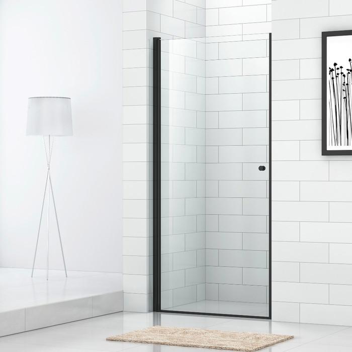 Душевая дверь Cezares Eco B-1 90x190 прозрачный, черный (ECO-O-B-1-90-C-NERO)