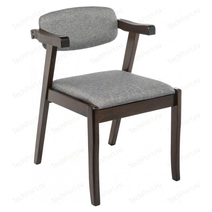 Фото - Стул Woodville Fit cappuccino / grey стул деревянный woodville demer cappuccino