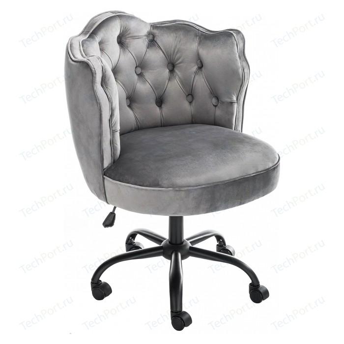 Кресло Woodville Helen серое