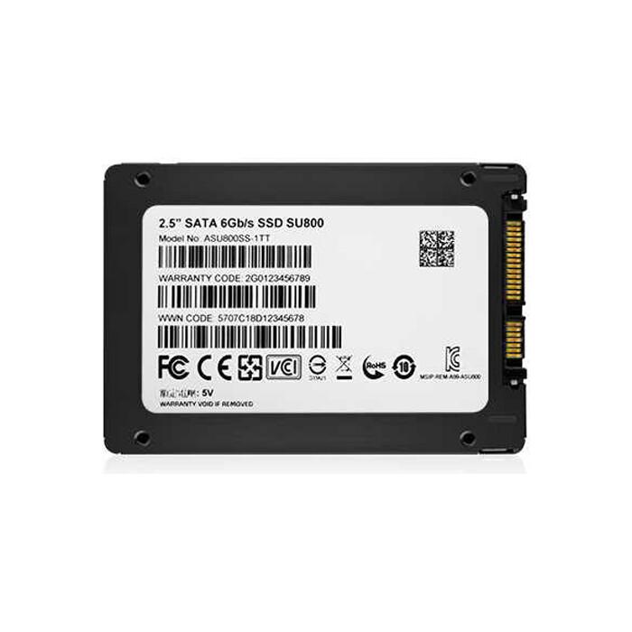 SSD накопитель ADATA SSD 1TB SU800 ASU800SS-1TT-C