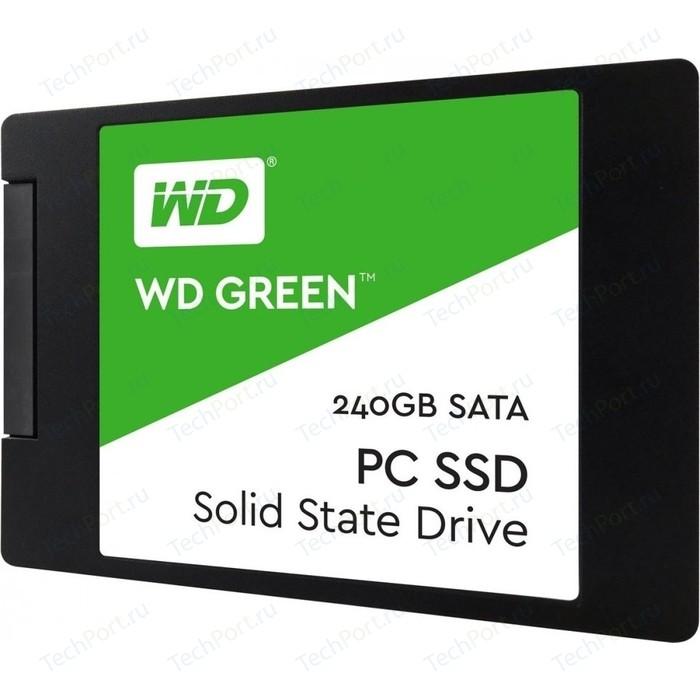 SSD накопитель Western Digital SSD 240Gb WDS240G2G0A Green