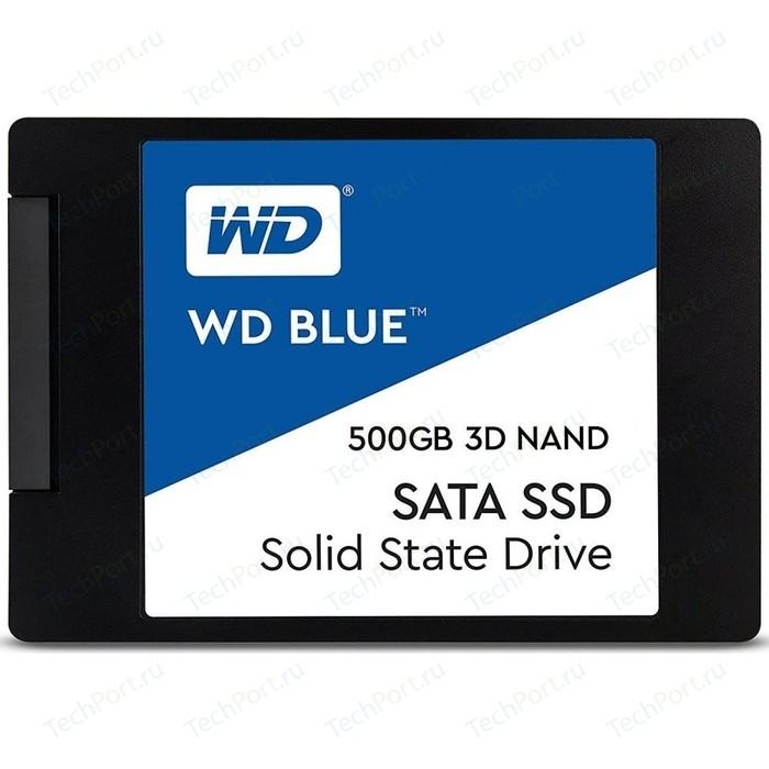 SSD накопитель Western Digital SSD 500Gb WDS500G2B0A