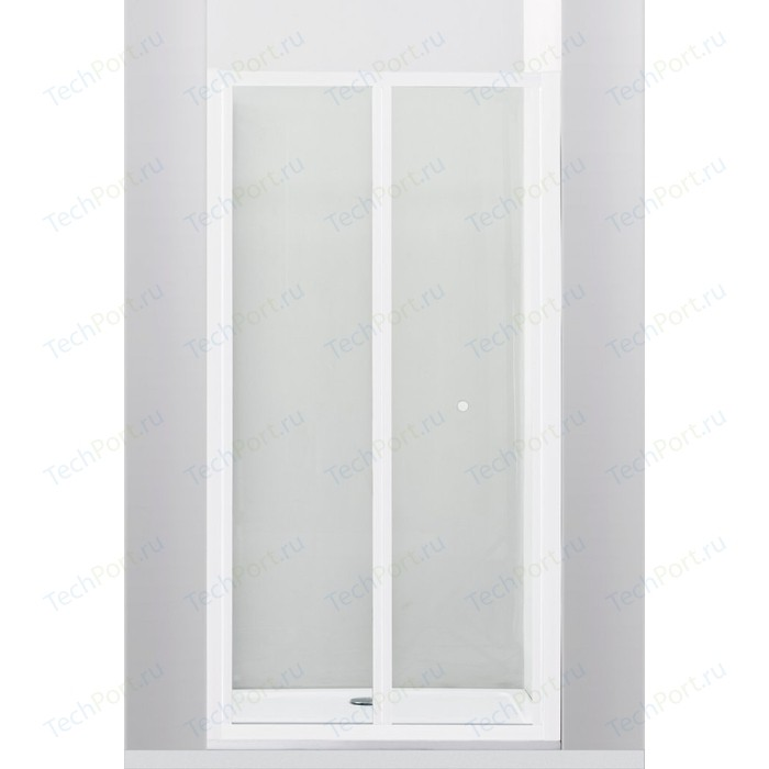 Душевая дверь Cezares Relax 80x185 прозрачная, белая (RELAX-BS-80-C-Bi)