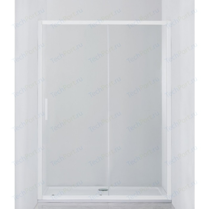 Душевая дверь Cezares Relax 140x185 Punto, белая (RELAX-BF-1-140-P-Bi)