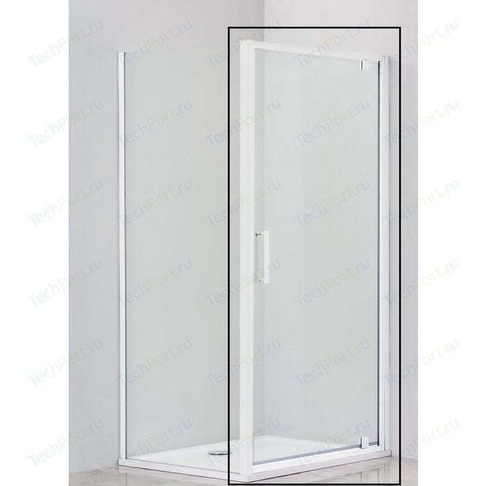 Душевая дверь Cezares Relax 80x185 Punto, белая, левая (RELAX-80-P-Bi-L)