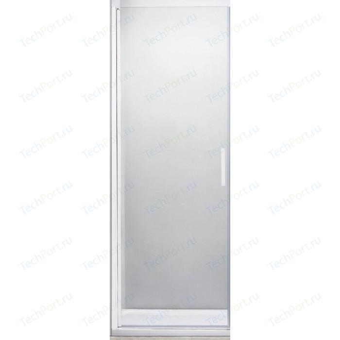 Душевая дверь Cezares Relax 75x185 прозрачная, белая (RELAX-75-C-Bi)