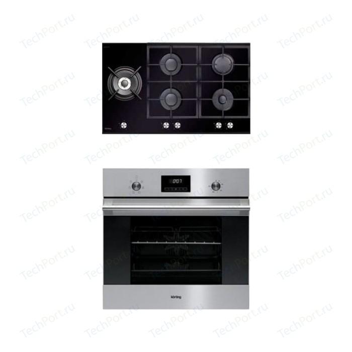Встраиваемый комплект Korting HGG 985 CTN + OKB 760 FX
