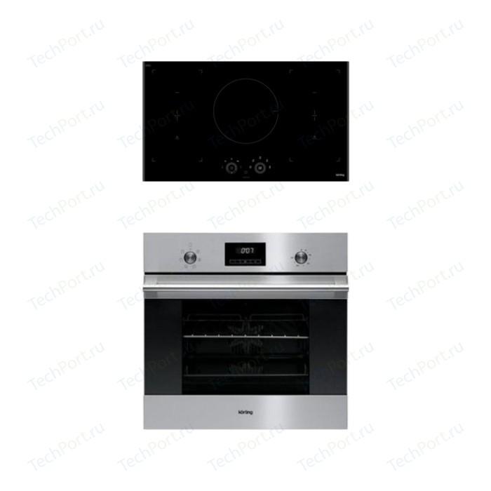 Встраиваемый комплект Korting HIB 95750 B Smart + OKB 760 FX