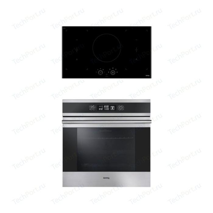 Встраиваемый комплект Korting HIB 95750 B Smart + OKB 9101 CFX