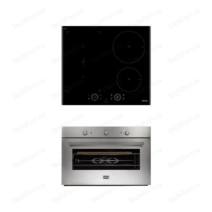 Встраиваемый комплект Korting HIB 64750 B Smart + OKB 5809 CSX Pro