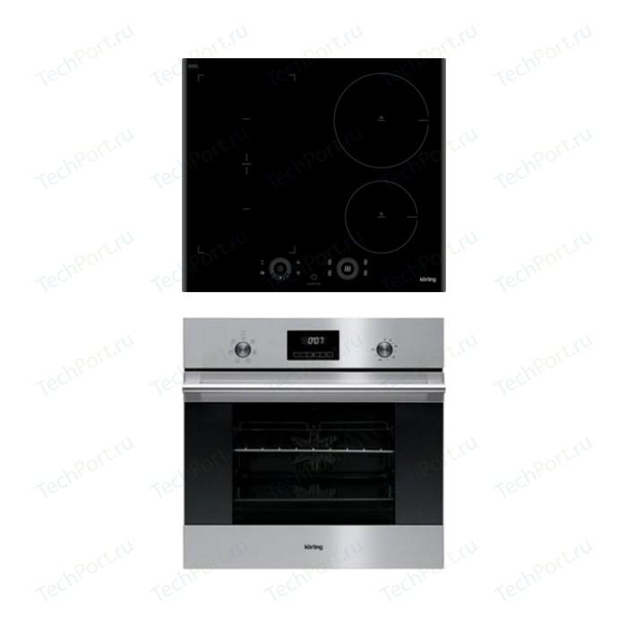 Встраиваемый комплект Korting HIB 64750 B Smart + OKB 760 FX