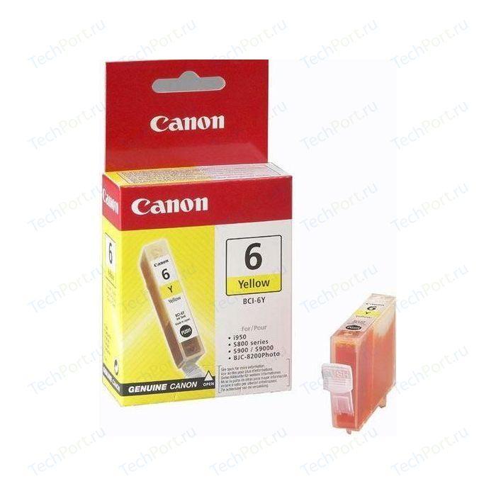 Картридж Canon BCI-6 yellow (4708A002)
