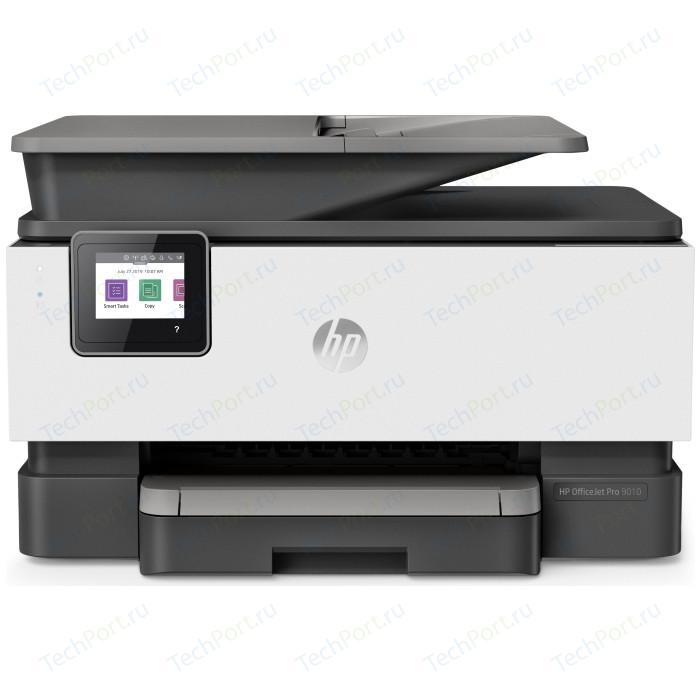 Фото - МФУ HP OfficeJet Pro 9010 мфу струйный hp officejet pro 9010 aio a4 цветной струйный белый [3uk83b]
