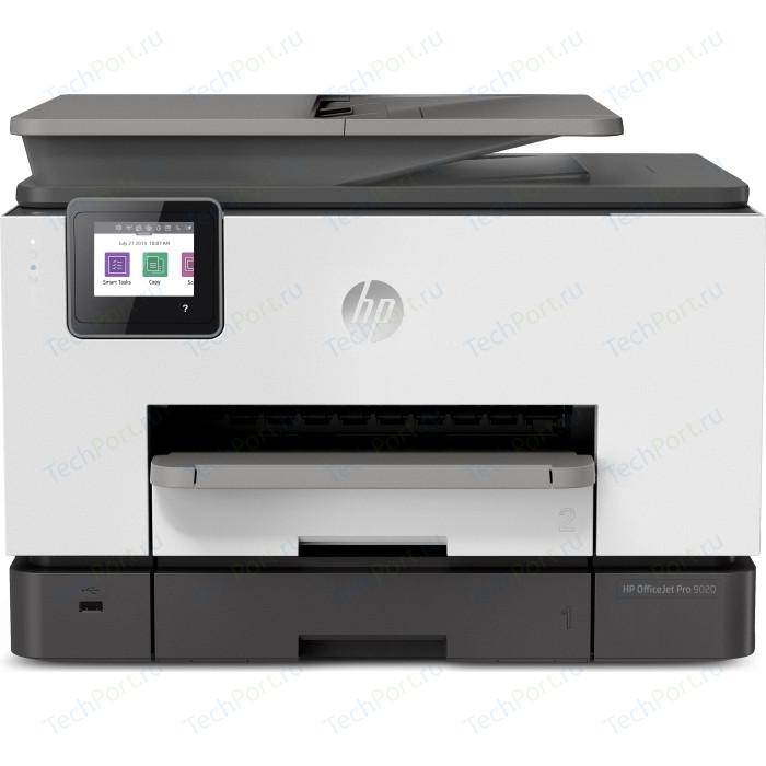 Фото - МФУ HP OfficeJet Pro 9020 мфу струйный hp officejet pro 9020 aio a4 цветной струйный белый [1mr78b]