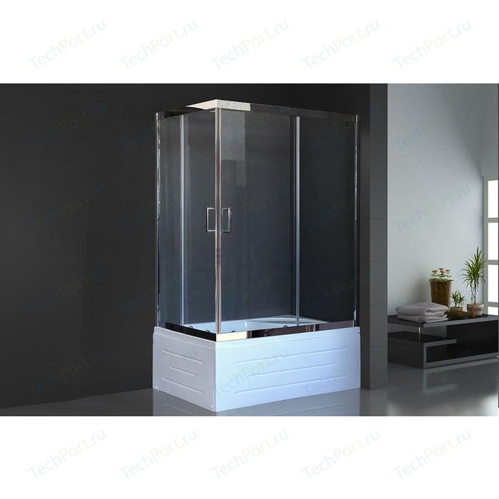 Душевой угололок Royal Bath BP 80x120 прозрачный, хром правый (RB8120BP-T-CH-R)