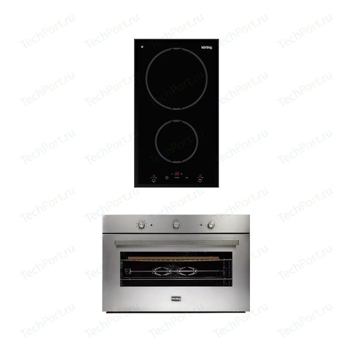 Встраиваемый комплект Korting HI 32003 B + OKB 5809 CSX Pro