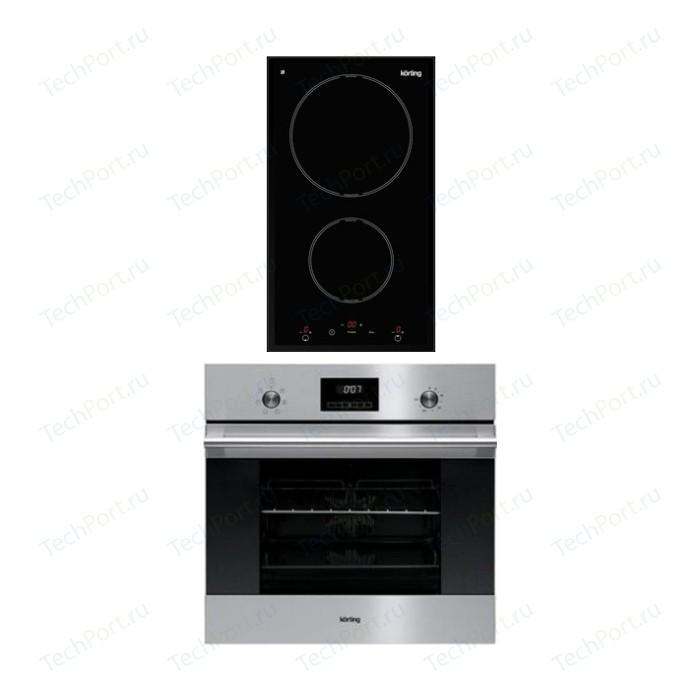 Встраиваемый комплект Korting HI 32003 B + OKB 760 FX