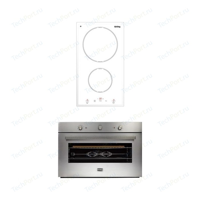 Встраиваемый комплект Korting HI 32003 BW + OKB 5809 CSX Pro