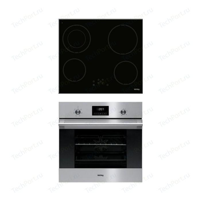 Встраиваемый комплект Korting HI 62022 B + OKB 760 FX