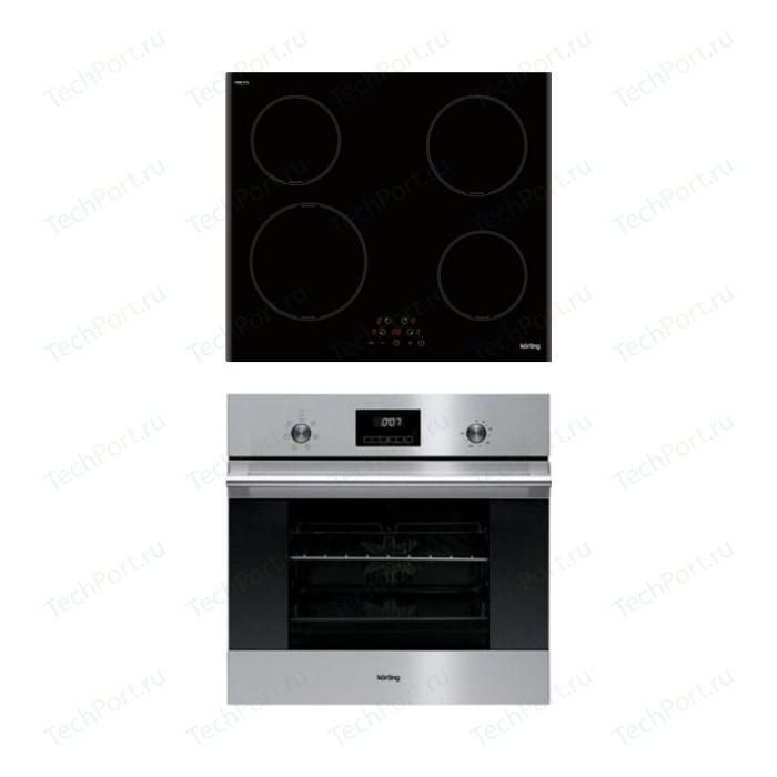 Встраиваемый комплект Korting HI 64013 B + OKB 760 FX