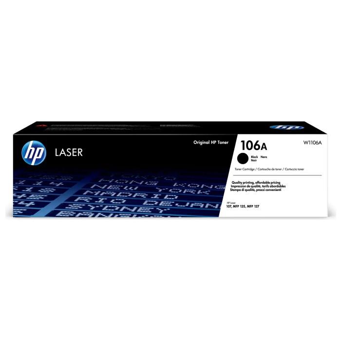 Картридж HP 106A (W1106A) (1000 стр./черный)