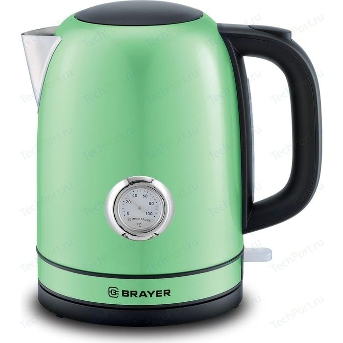 Фото - Чайник электрический BRAYER BR1005GN чайник brayer br1020