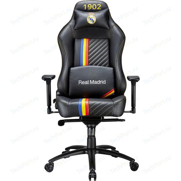 Кресло компьютерное игровое TESORO Real Madrid MB730-RM black