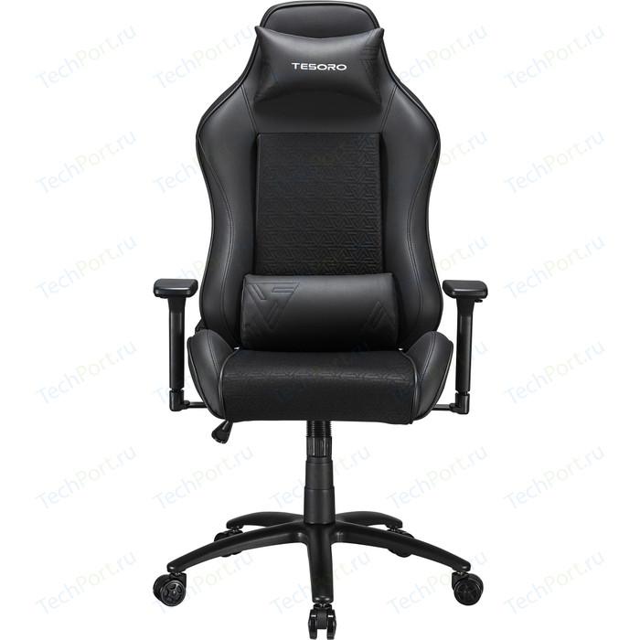 Кресло компьютерное игровое TESORO Alphaeon S2 TS-F717 black/mesh fabric