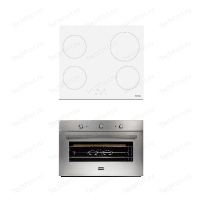 Встраиваемый комплект Korting HI 64021 BW + OKB 5809 CSX Pro
