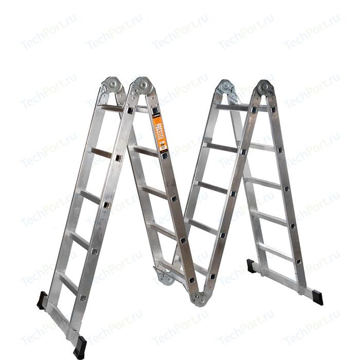 Лестница-трансформер Вихрь ЛТА 4х5 лестница вихрь лта 4х3 алюминий 3ступ h3 3м макс нагр 120кг 73 5 1 14