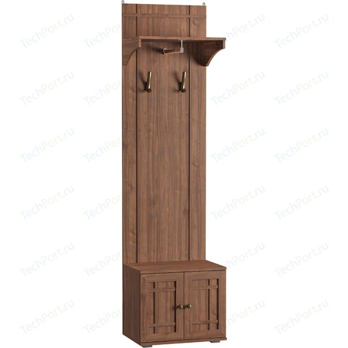 Шкаф комбинированный Моби Марко 10.09 орех селект каминный