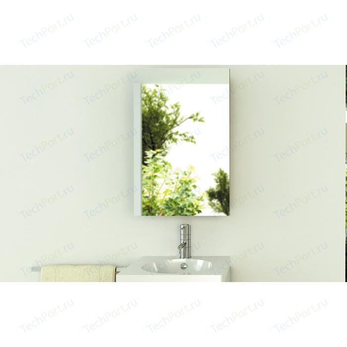 Зеркальный шкаф Comforty Диана 50 белый глянец, правый (00003118242) зеркальный шкаф am pm sensation 80 правый с подсветкой белый глянец m30mcr0801wg